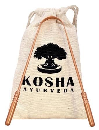 Gratte langue ayurvédique en cuivre KOSHA top3