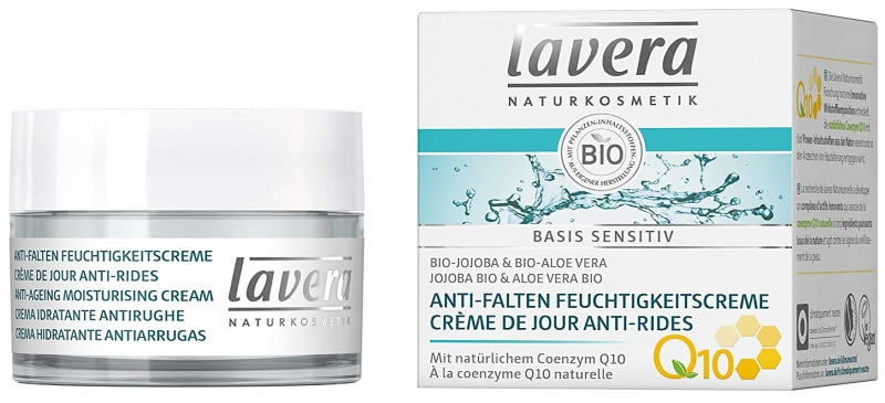 Crème de jour contre rides LAVERA à la coenzyme Q10 naturelle top3