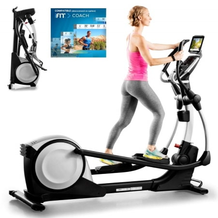 Vélo elliptique pliable PROFORM 495 CSE fitness sport maison bluetooth