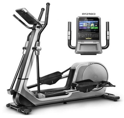 Vélo elliptique SPORTSTECH LCX800 sport maison fitness android