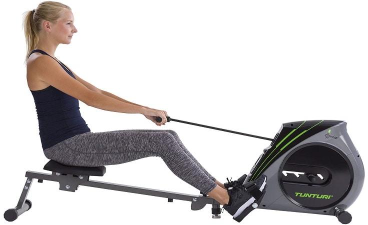 Rameur pliable TUNTURI pour sport appartement fitness économique