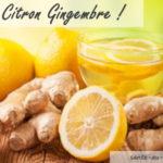 Boisson detox citron gingembre, recette pour cure de détoxification du corps naturellement avec détoxination santé naturelle