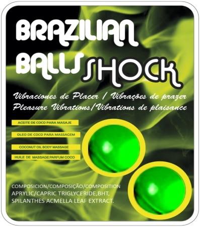Boules de massage brésiliennes crépitantes parfum coco vibrations plaisir couple, sensuel et érotique, huile préliminaire top4