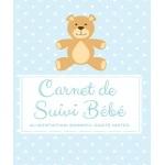 Carnet de suivi bébé journalier pour parents avec nouveau né qui arrive dans famille, journal santé enfant et bien-être, premières dents, repas, poids