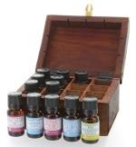 Coffret cadeau bois 12 huiles essentielles