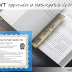 Comment apprendre la naturopathie à la maison, de chez soi, avec une formation à distance ou via des livres pour devenir naturopathe ou s'instruire