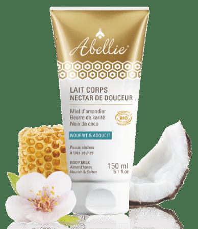 Crème hydratante peau bio au miel d'amandier, beurre de karité, noix de coco top5