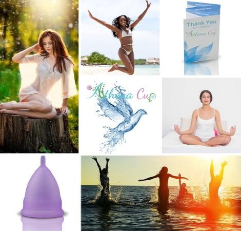 Coupes menstruelles femme sport, yoga, plage, et confort, pour périodes de règles féminines, alternative économique aux tampons et serviettes hygiéniques jetables