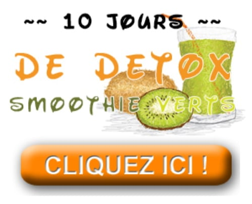Ebook cure détox smoothie verts sur 10 jours, livre électronique pour aider à détoxifier son corps naturellement