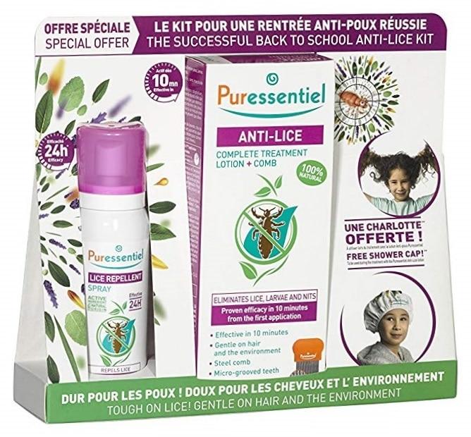 Kit anti-poux Puressentiel