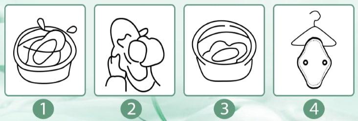 Comment laver une serviette hygiénique réutilisable main ou machine température séchage règles périodiques top5