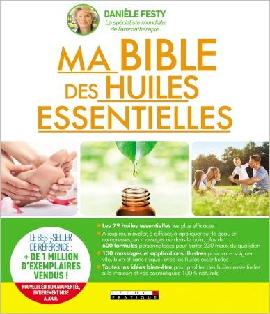 Livre ma bible des huiles essentielles aromathérapie TOP5