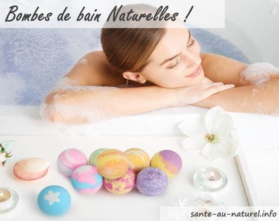 Meilleures bombes de bain naturelles, boules effervescentes bath bomb top5