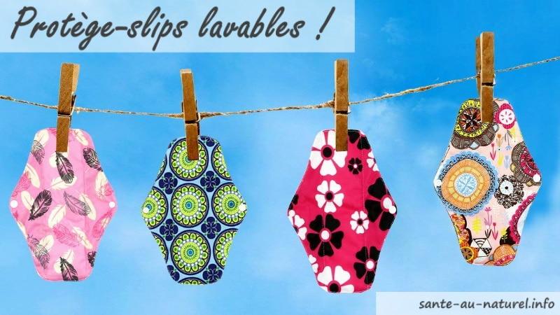 Les meilleurs protège-slips lavables et réutilisables fabriqué en France ou en Europe anti fuite urinaire top3
