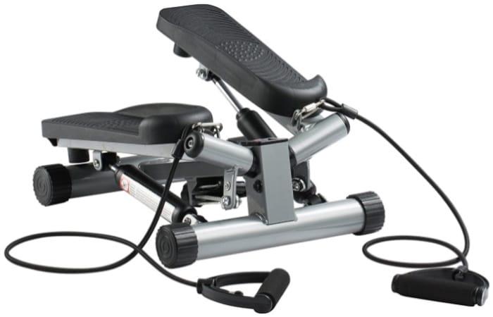 Mini stepper avec élastiques ULTRA SPORT pour muscler jambes et fessier, pouvoir faire du fitness dans sa maison, marches larges et pas cher top3