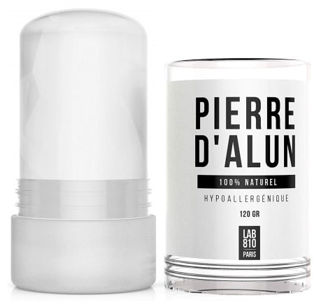Pierre d'alun 100% naturel hypoallergénique LAB810 top5