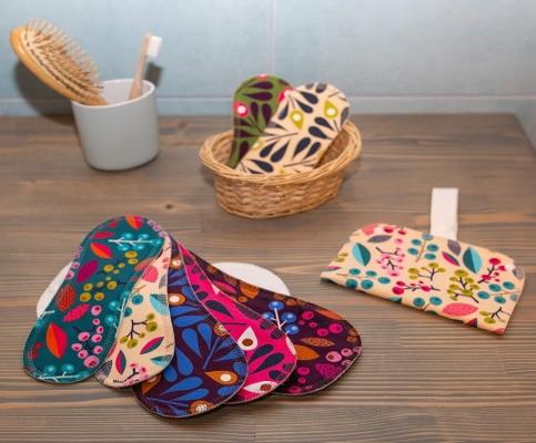 Protèges-slips réutilisables et lavables avec sac de rangement étanche contre fuite urinaires fabriqué pour coton bio femme top3