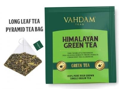 Sachet de thé vert