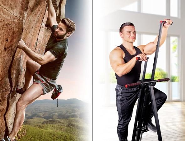 Stepper bras et jambes vertical, idéal pour musculation corps, type mouvement escalade, pour exercice fitness à la maison et step chez soi top3