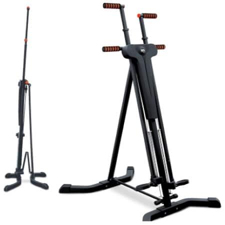 Stepper pliable rangement facile avec guidon SPORTSTECH VC 300, reproduire mouvements escalade et musculation abdo, fessier, jambes top3