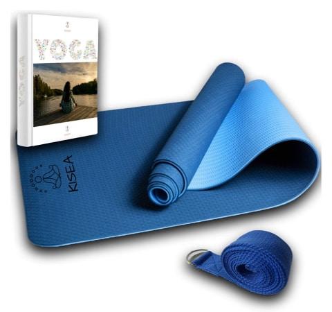 Tapis de méditation pas cher, idéal pour débuter au yoga aussi, mousse épaisse antidérapant, adapté aux débutants qui veulent apprendre à méditer