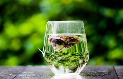 Thé vert tasse