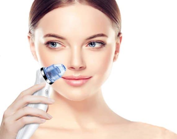 Avis utilisation aspirateur point noir pas cher pour skin et visage, pour éviter problèmes de peau, soin beauté homme et femme, aspiration douce top4