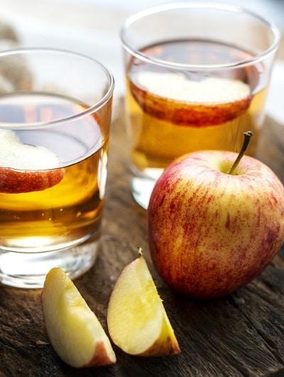 Transpiration excessive Vinaigre de pomme