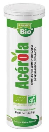 Vitamine C bio naturelle aide système immunitaire, réduire la fatigue, comprimé à croquer, goût cerise et période surmenage et stress top4