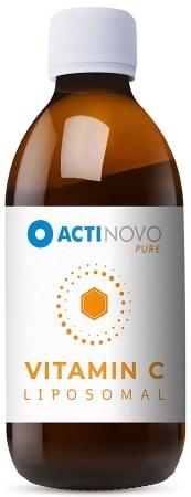 Vitamine C liposomale dosage élevé pour son système immunitaire, liquide et sans additif, haute dose, qualité végétalien santé top4